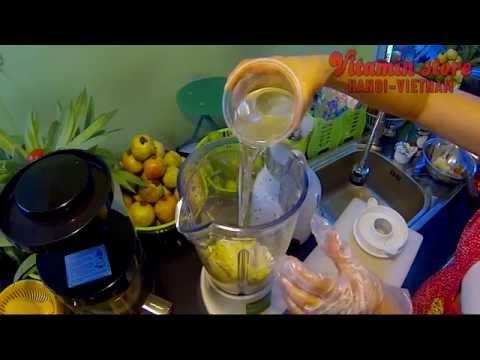 Cách làm sinh tố Bơ Sầu riêng - Vitamin store 01