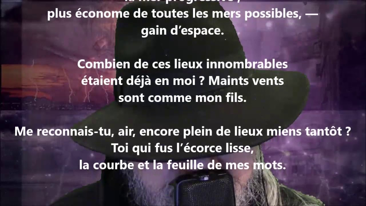 Respirer Invisible Poème Rainer Maria Rilke Lu Par Yvon