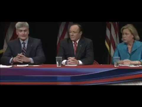 Louisiana Senate Debate 2014 Mary Landrieu  Bill Cassidy Rob Maness