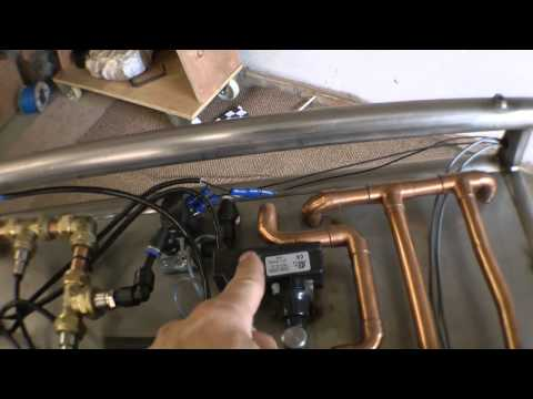 How to build a TURBOJET ENGINE-The Oil System and controls