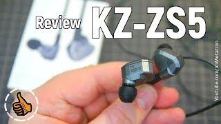 KZ ZS5 (Knowledge Zenith) - Наушники с 4 драйверами