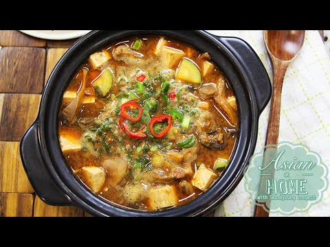 Doenjang Jjigae : Korean Fermented Soybean Paste Soup Recipe