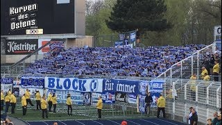 FC Carl Zeiss Jena 1:5 1. FC Magdeburg 17.04.2018 | Support