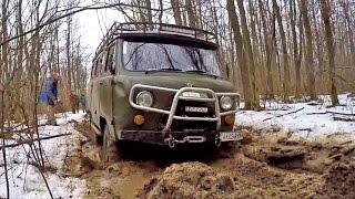 УАЗ Буханка vs УАЗ vs НИВА vs Land Rover Defender vs Opel Frontera vs Луаз vs ARO [Off-Road 4х4]