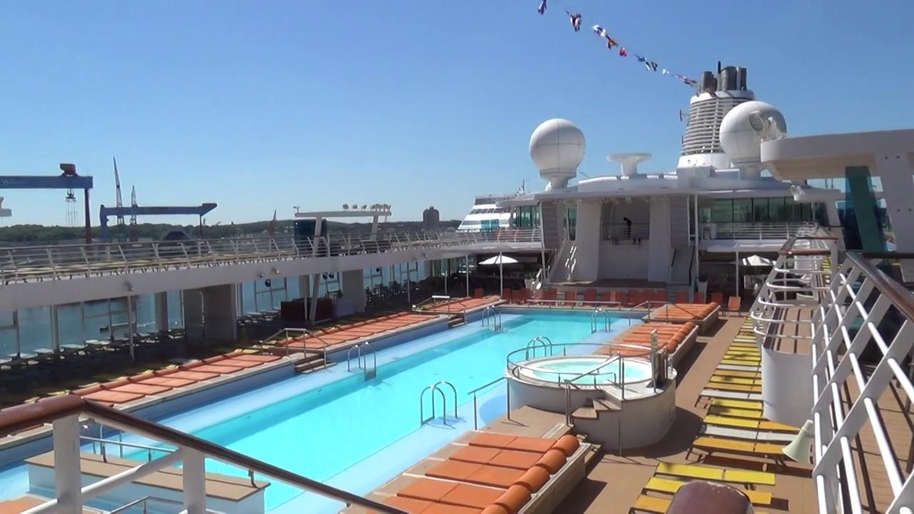 mein schiff 3 kreuzfahrten video film dagmar mangiapane pool schwimmbad youtube. Black Bedroom Furniture Sets. Home Design Ideas