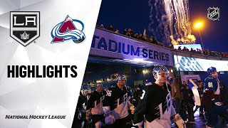 NHL Highlights | Kings @ Avalanche 02/15/20