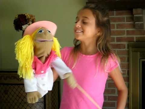 Ventriloquist -Amazing Child Yodeling Lisa Diaz with Sally