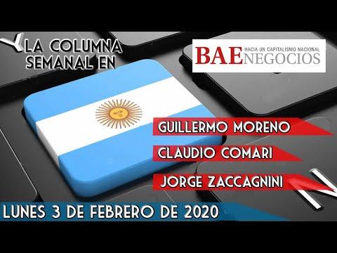 Guillermo Moreno: La Columna En BAE Negocios 03/02/20