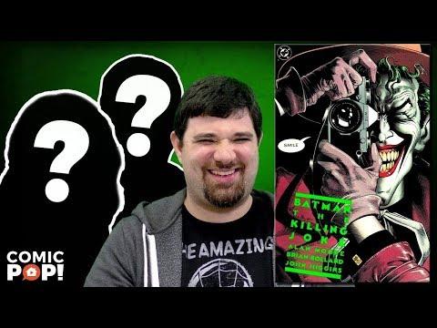 Explaining Batman: The Killing Joke to my parents