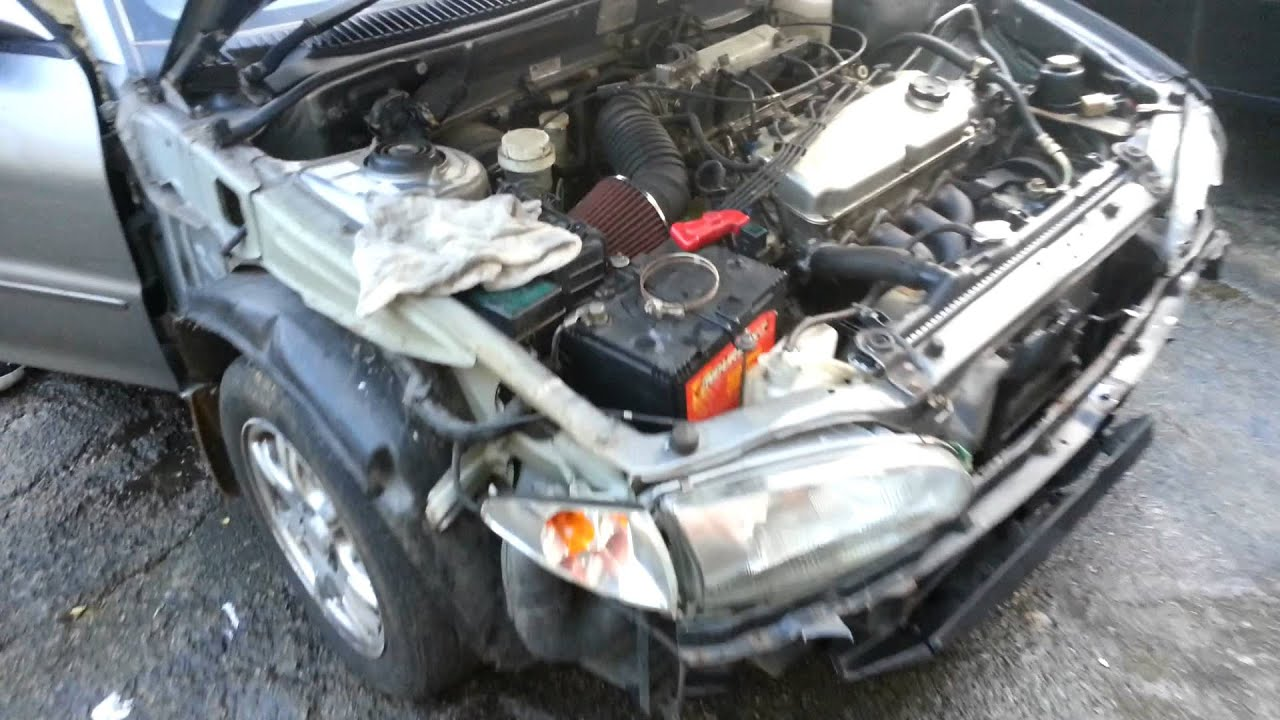 proton wira 1 6 16 valve with K&N air filter