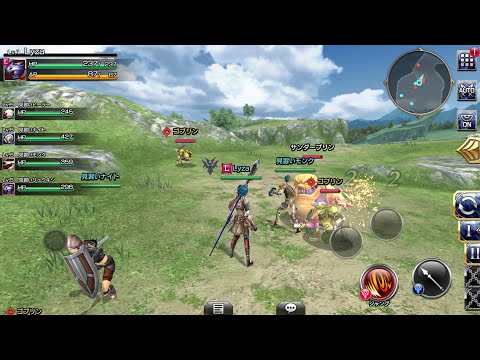 Final Fantasy : Explorers Force - Mobile MMORPG By Square Enix (Android Gameplay)