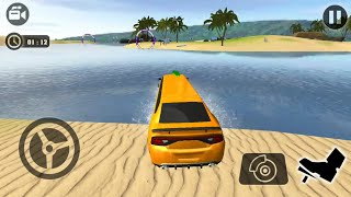 Beach Water Surfer Limousine Car Driving Simulator New Limousine Unlocked - Android Gameplay FHD