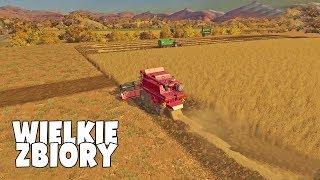 Wielkie zbiory jednym kombajnem! | Farming 17