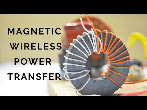 Magnetic Wireless Electric Power Transfer