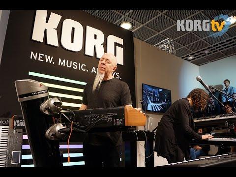 Jordan Rudess @ Musikmesse 2015 feat. Marco Parisi & KRONOS