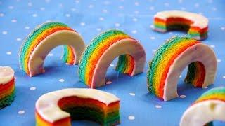 How to make Rainbow Baumkuchen レインボー バームクーヘン