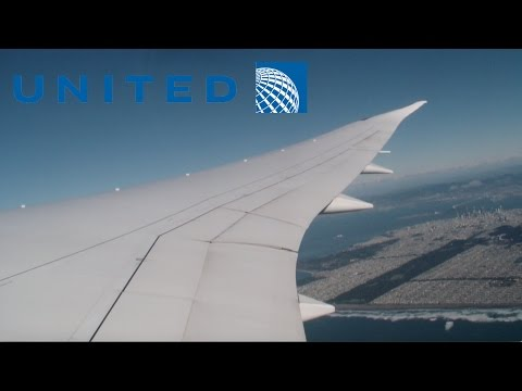 United Airlines 787-9 pushback, taxi, takeoff at San Francisco (SFO)