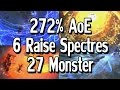 Path of Exile 2.5 - 272% Increased Minion AoE - 6 Spectres - 27 Monster