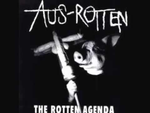 AUS-ROTTEN - The Rotten Agenda LP
