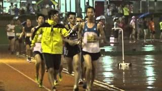 オトナのタイムトライアル 5000m K・L組 (20分目標) 2014年7月20日