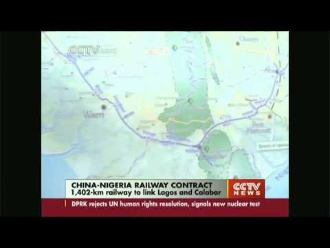 China Signs $11.97 Bln Rail Network Contract With Nigeria