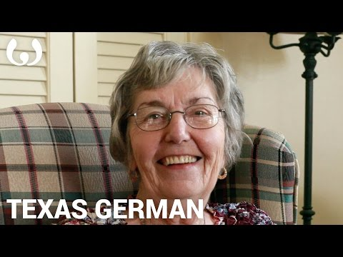WIKITONGUES: Evelyn speaking Texas German
