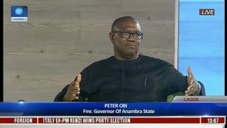The Platform: Obi Says Whoever Owned Stashed Cash Could Have Helped Nigeria Economically Pt 1