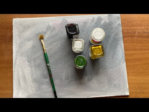 Simple painting ideas For beginners/ 5 minutes wall decor/wall hanging /canvas painting DIY