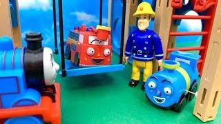 Strażak Sam, malutka straż pożarna i Tomek  Bajka dla dzieci po Polsku