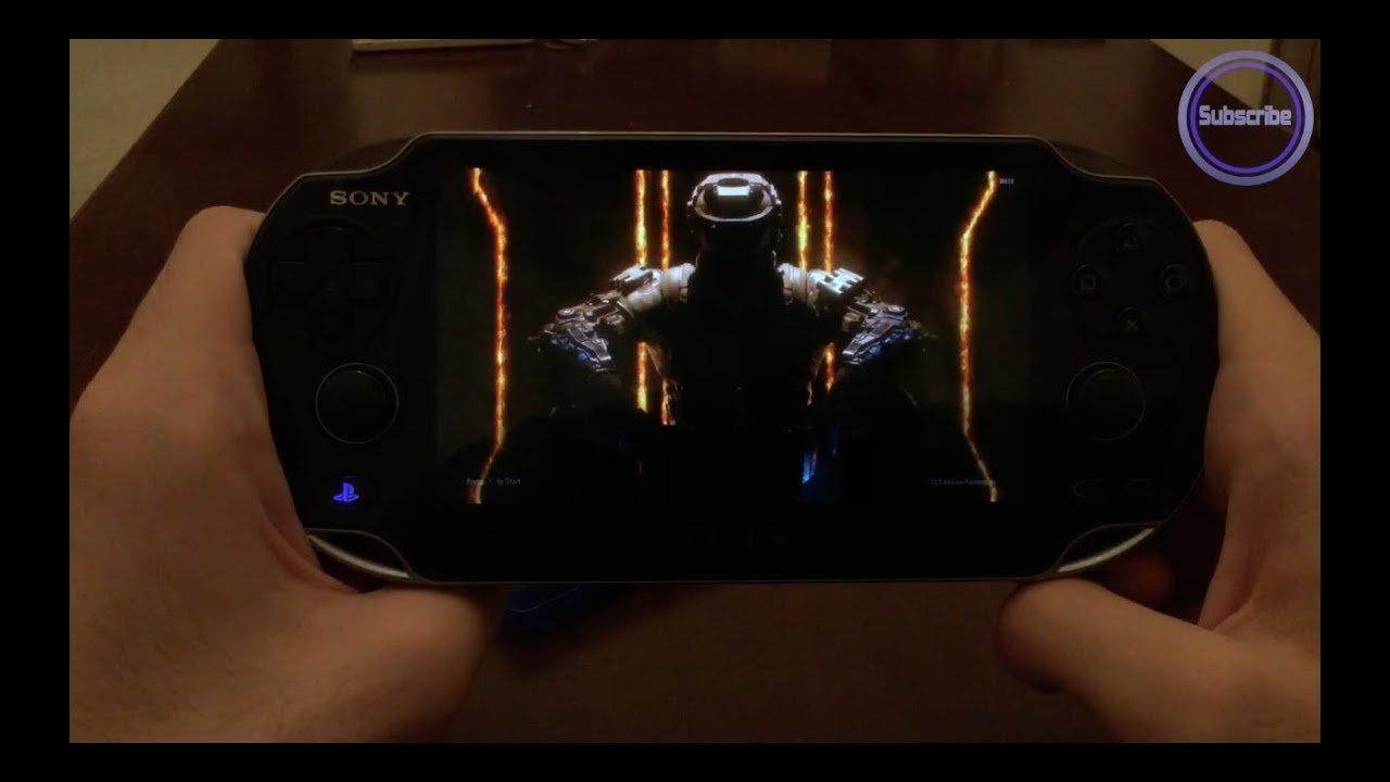call of duty black ops 3 ps vita remote play - youtube