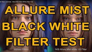 مشروط المرشحات أستراليا - جاذبية ضباب أسود أبيض فلتر الاختبار