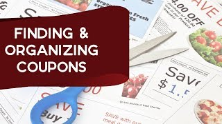 Finding & Organizing Coupons + Live Q&a