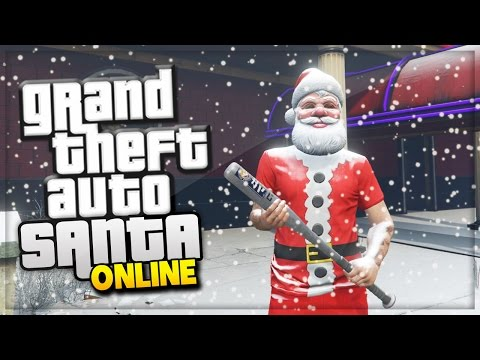 "GTA 5 PC Mods! ""Santa Hits The Strip Club"" (GTA 5 Online ..."