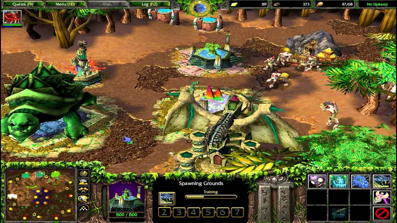 Warcraft 3 races download