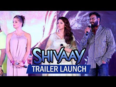 UNCUT - Shivaay Trailer Launch | Ajay...