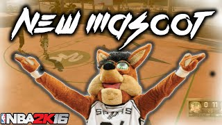 NBA 2K16 LEGEND 3 SPURS MASCOT GAMEPLAY💯/ THESE COME UPS MUST BE STOPPED!!!!!! F**** TRASH TALKERS