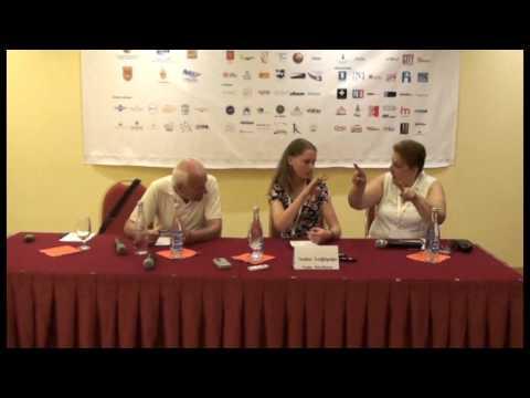 Press Conference with  Yana Novikova