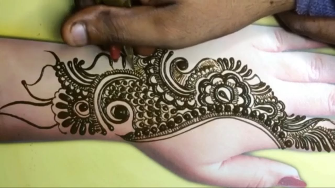 Beautiful Style Arabic Mehndi Design 2020 | Simple Arabic Mehndi Designs | Easy Mehndi Designs