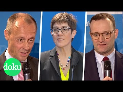 Merkel-Nachfolge: Wer wird CDU-Chef/in?   WDR Doku