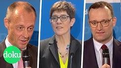 Merkel-Nachfolge: Wer wird CDU-Chef/in? | WDR Doku