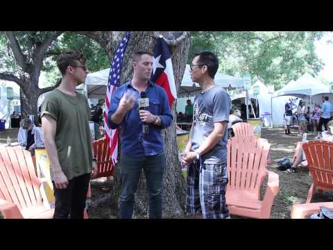 Wild Cub Interview at Austin City Limits 2013 w/ B-Sides On-Air
