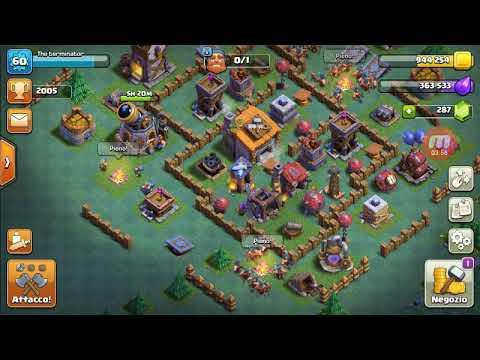 Nuovo video su Clash of clans 3 attacchi 2* villaggio