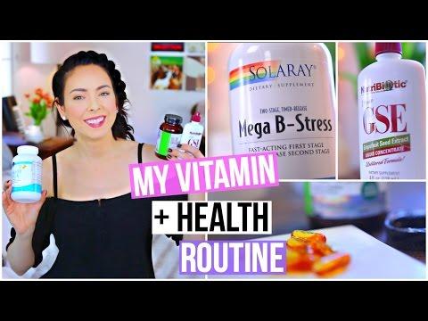 My Vitamin & Health Routine!