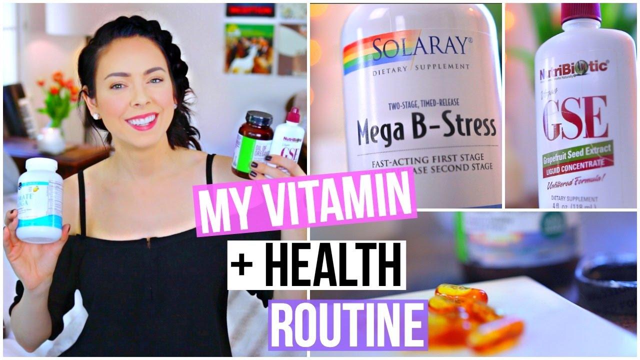 <div>My Vitamin & Health Routine!</div>