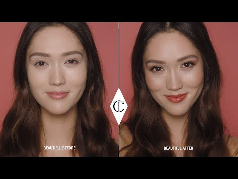 Quick & Easy Makeup Tutorial Using Stoned Rose Beauty | Charlotte Tilbury thumbnail