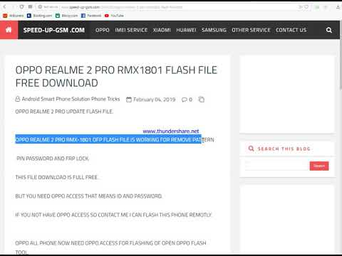 Realme Rmx1801 Flash File