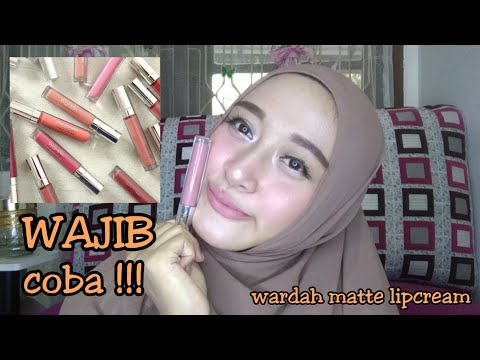 review-and-swatches-wardah-exclusive-matte-lipcream-shade-1,3,4,5,8,10,11,18