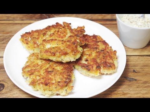 Golden Cod Cakes With Garlic Mayonnaise - Recipe Video