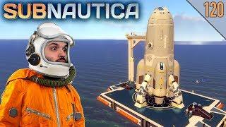 Subnautica #120 | EL COHETE PARA ESCAPAR DEL PLANETA | Gameplay Español