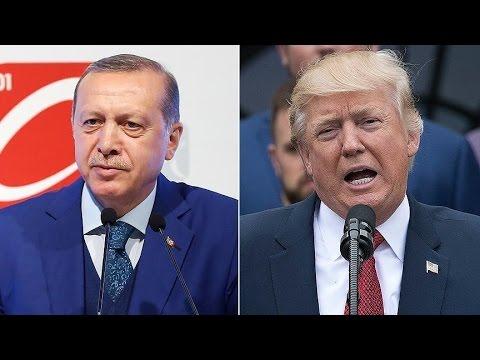 Erdoğan-Trump ortak basın toplantısı
